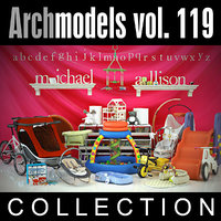 3d archmodels vol 119