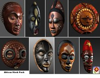 African Mask Pack