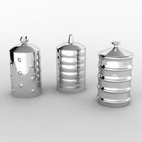 3d jars alessi model