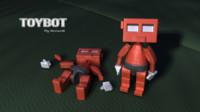 maya toy robot rig character