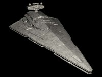 3d model imperial star destroyer