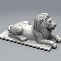 max lion statue statue007h