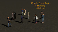 3ds max 10 characters walking