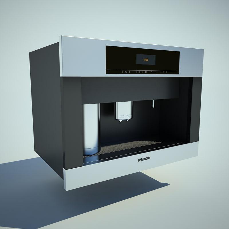 3dsmax miele maker. Black Bedroom Furniture Sets. Home Design Ideas