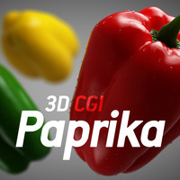 3D CGI Paprika