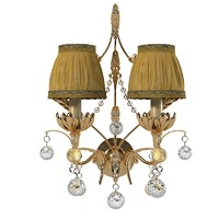 Pataviumart classic wall lamp crystal AP185002AS1