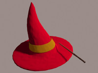 Wizard Hat and Magic Wand