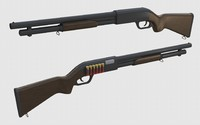 remington 870 3d 3ds