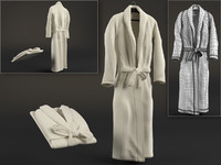 3d model dressing gown