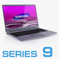 3d model notebook samsung np900x3b series