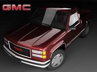 3d model gmc c1500 mk4 cab