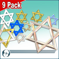 Star of David (9 Pack)