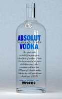 realistic absolut vodka bottle cap 3d max