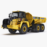 Articulated Truck Komatsu HM300 construction equipment
