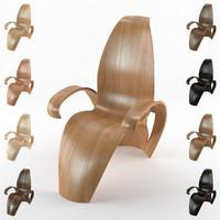 CADartet Leaf Chair