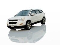 chevrolet traverse lt 3d model