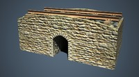 3d railroad culvert