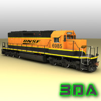 emd sd40-2 engines bnsf max