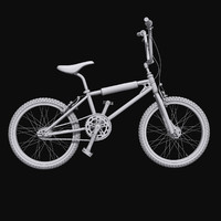 kuwahara bmx cycle bicycle 3d max