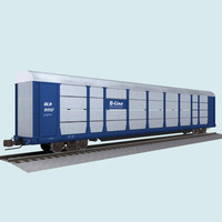 Train Car: Autorack / Car Carrier