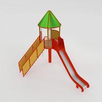 3dsmax tower slide