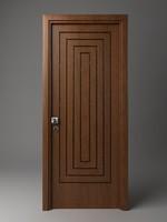 3dsmax door wood wooden