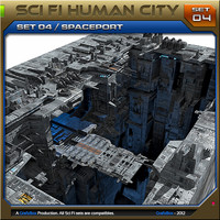SciFi_Human City Set04