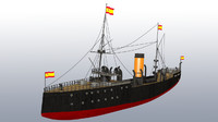 Spanish War Ship