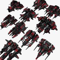 3d 10 attack drones