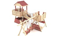 Wooden Playground Equipment 3