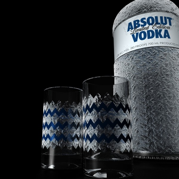 cinema4d limited edition absolut vodka - Absolut Vodka Crystal limited edition... by Videomeka