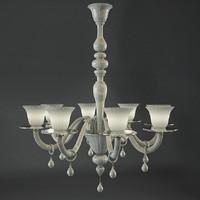 chandelier vain 4439 8 3d model