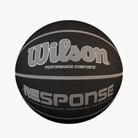 wilson basketball ball 3d model