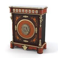 bisini luxury cabinet 3d max