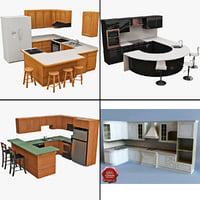 3d model kitchens 2
