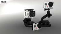 gopro 3 waterproof 3d max