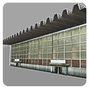 administrative building 3d fbx