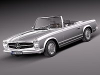 mercedes benz sl mercedes-benz 3d max