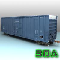 Railroad boxcar A405 MMA