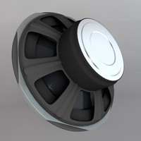 cinema4d subwoofer woofer