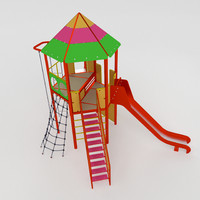 3ds max tower slides