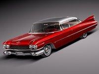 Cadillac 1959 Sedan hardtop DeVille