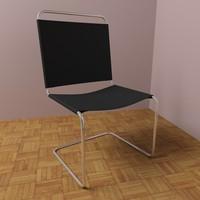 maya modern leather chair