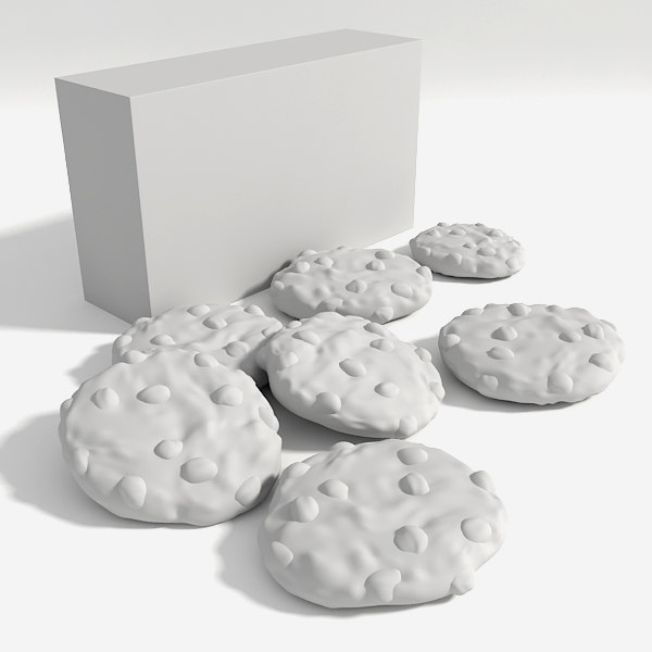 3d cookies - Cookies... by GrafxBox