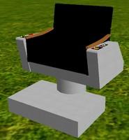 3dsmax captain chair tos