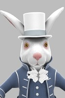 3ds max character march rabbit