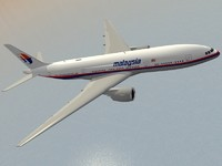 lightwave b 777-200 er airliner