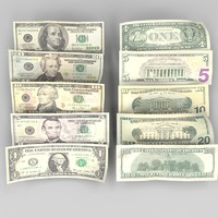 c4d currency bills 5
