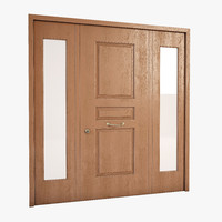 3d model door oikos bugnato toscana