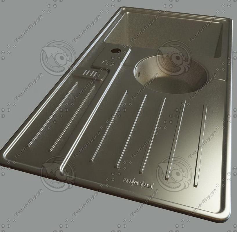 Kitchen Sink Realism: Kitchen Accessories 3ds